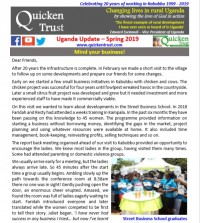 Quicken Trust is creating a heart in Kabubbu - #KabubbuKids Uganda rise above poverty and destitution through a child partnership programme supporting their education & primary health care